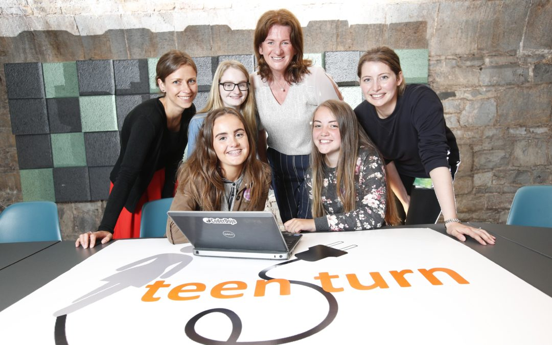 Teen Turn programme on the six one news
