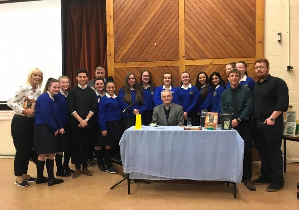 Holocaust Survivor Tomi Reichental visits Warrenmount