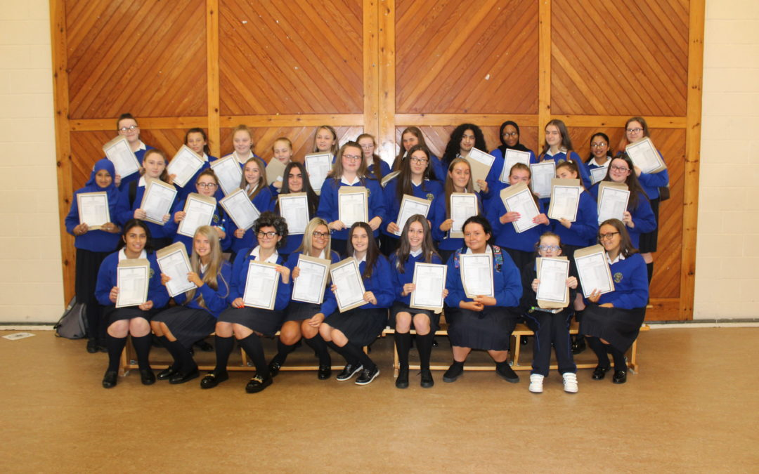 Wonderful Warrenmount Junior Certificate Results!